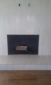 Tile and Marple Design fireplace