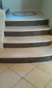 Tile and Marple Design flooring