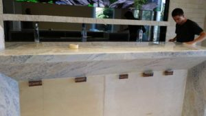 Tile and Marple Design bar project