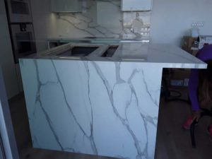Tile and Marple Design kitchen countertop
